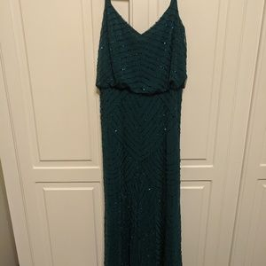 Adriana Papel Beaded Gown size 0